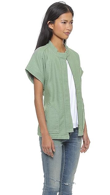Madewell Short Sleeve Hilltop Jacket