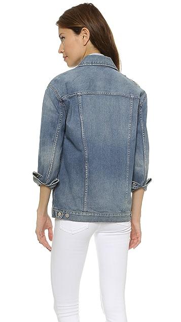 Madewell Свободный джинсовый пиджак