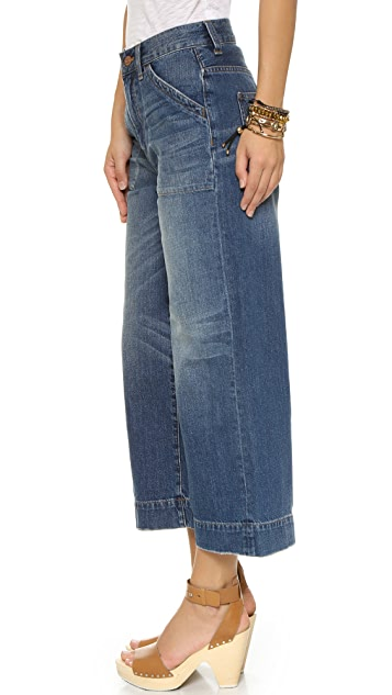 Madewell Wide Leg Culottes