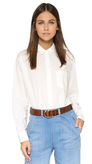 Madewell Oversized Buttondown