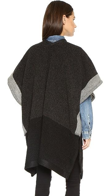 Madewell Wool Poncho