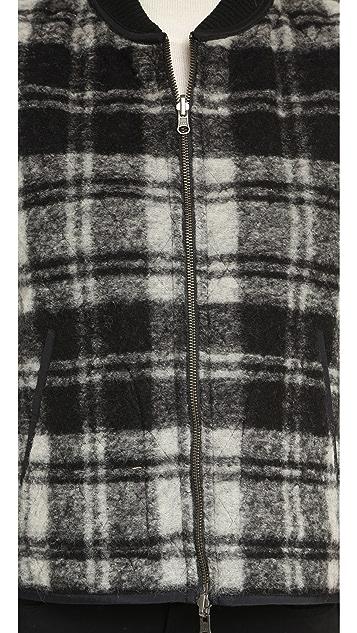 Madewell Reversible Plaid Vest