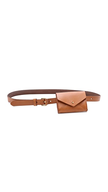 Madewell The Pouch Belt