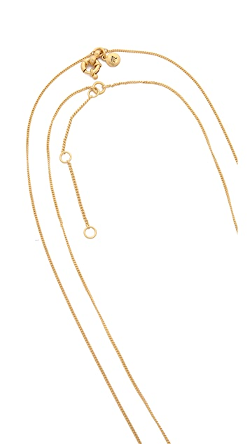 Madewell Sara Double Twist Necklace