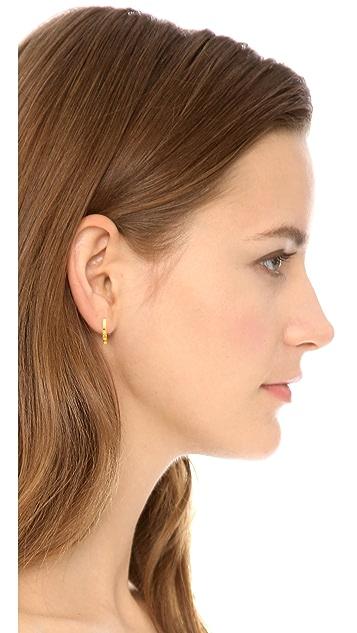 Madewell Dot Hoop Earrings