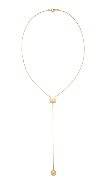Madewell Drop Ball Necklace