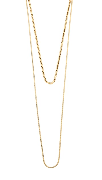 Madewell Lisa Chain Choker Necklace