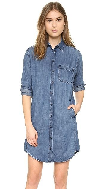 5b8ef219ffb Madewell Denim Cozy Shirtdress ...