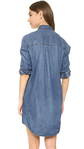 Madewell Denim Cozy Shirtdress