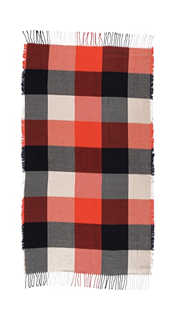 Madewell Large Check Scarf