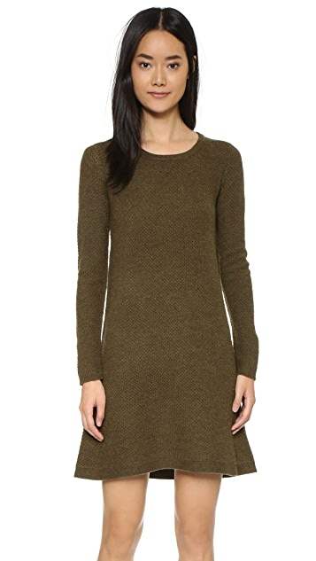 Madewell Annie Texture Stitch Sweater Dress