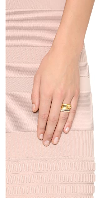 Madewell Ball Stackable Rings