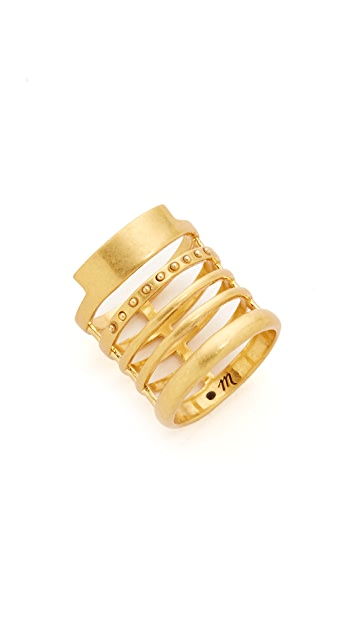 Madewell Flat Line Stacking Ring