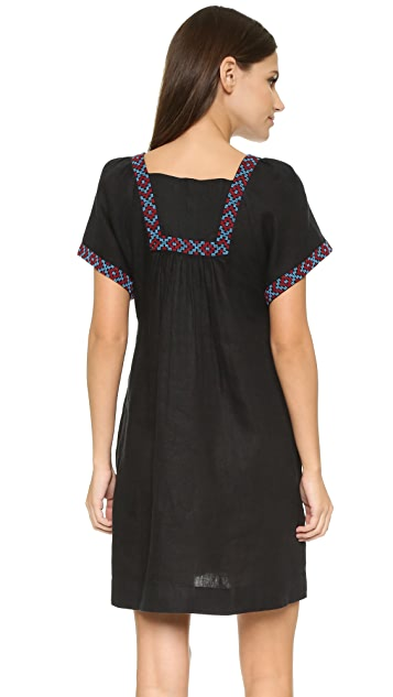 Madewell Embroidered Wander Dress