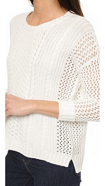 Madewell Plaza Pullover Sweater