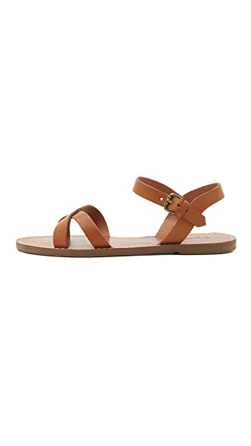 Madewell Boardwalk Crisscross Sandals