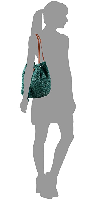 Mar Y Sol Solana Drawstring Raffia Bag