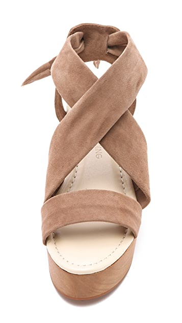 Madison Harding Janeane Suede Sandals