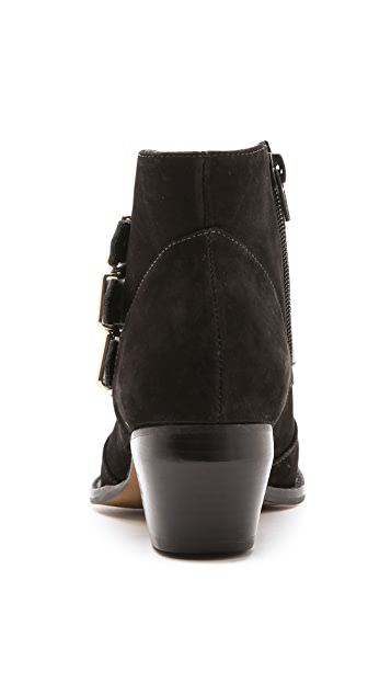 Madison Harding Bernhardt Suede Booties