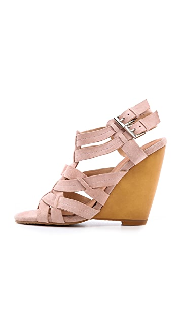 Madison Harding Veronique Wedge Sandals