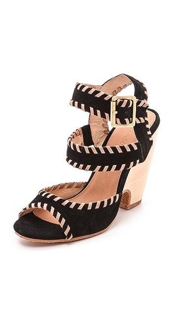 Madison Harding Sophie Stitched Sandals