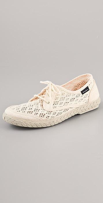 Maians Pepa Rejilla Crochet Sneakers