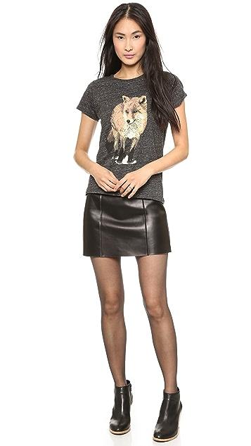 Maison Kitsune Walking Fox T-Shirt
