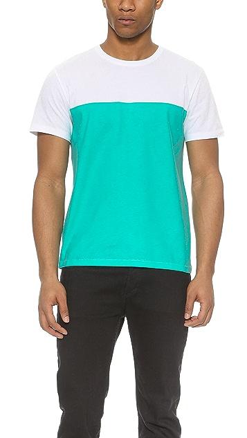 Maison Kitsune Colorblock T-Shirt