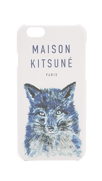 Maison Kitsune Fox Brush iPhone 6 Case