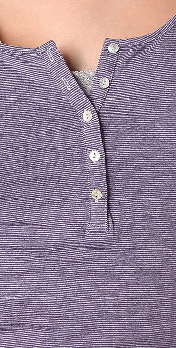 Scotch & Soda/Maison Scotch Double Layer Long Sleeve Top