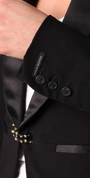Scotch & Soda/Maison Scotch Tuxedo Blazer with Bracelet Closure