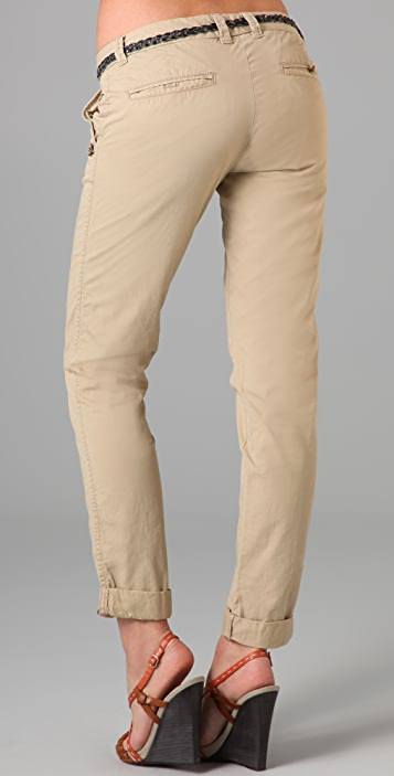 Scotch & Soda/Maison Scotch Belted Chino Pants