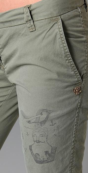Scotch & Soda/Maison Scotch Tattoo Chino Pants