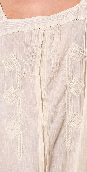 Scotch & Soda/Maison Scotch Vintage Inspired Embroidered Dress
