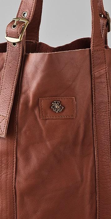 Scotch & Soda/Maison Scotch Washed Leather Shopper