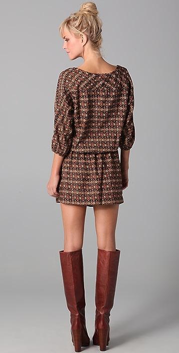 Scotch & Soda/Maison Scotch Printed Dress With Coin Purse
