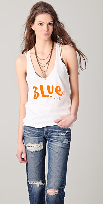 Scotch & Soda/Maison Scotch Blue Bird Tank