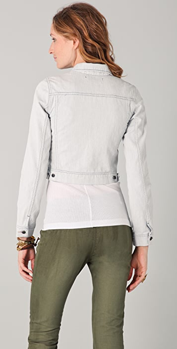 Scotch & Soda/Maison Scotch The Great White Denim Jacket