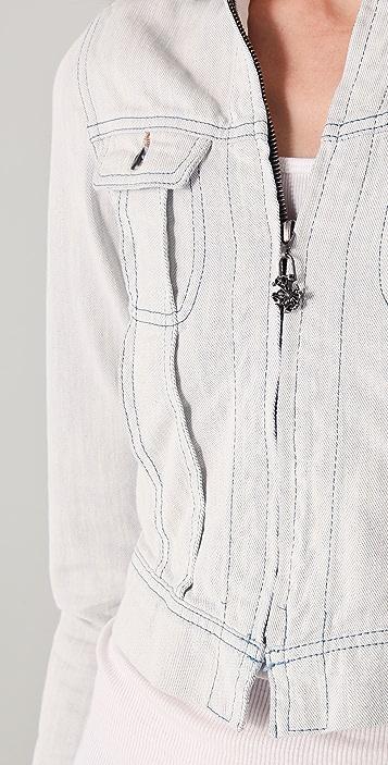 Scotch & Soda/Maison Scotch The Great White Denim Jacket