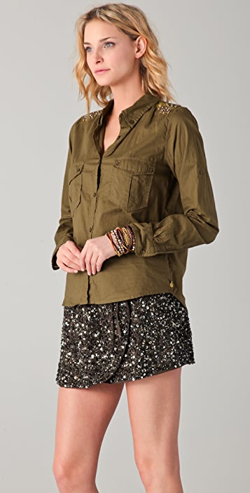 Scotch & Soda/Maison Scotch Soft Military Shirt