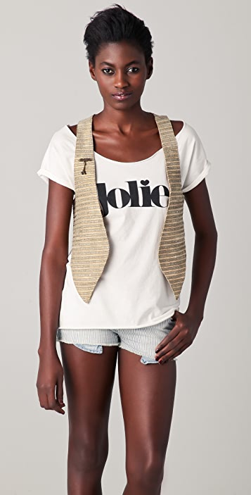 Scotch & Soda/Maison Scotch Boho Gilet Vest