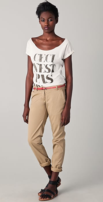 Scotch & Soda/Maison Scotch Ceci N'est Pas Un Tee