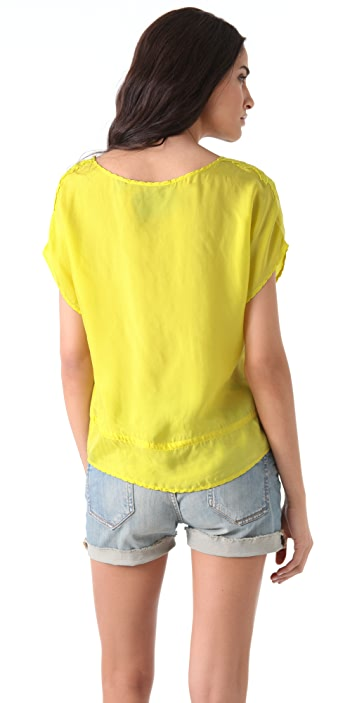Scotch & Soda/Maison Scotch Fancy Drawstring Blouse