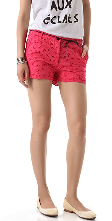 Scotch & Soda/Maison Scotch Broderie Anglaise Shorts