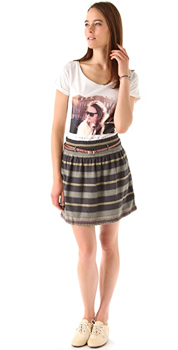 Scotch & Soda/Maison Scotch Belted Beach Skirt