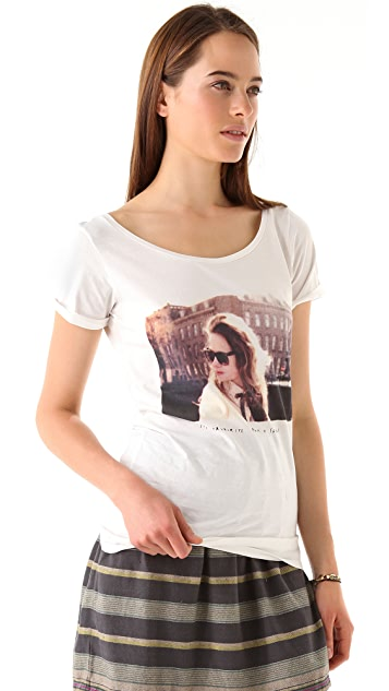 Scotch & Soda/Maison Scotch Photoprint Tee