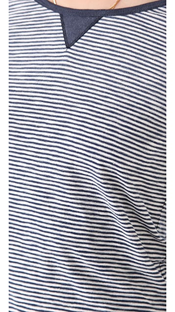 Scotch & Soda/Maison Scotch Long Sleeve Striped Tee