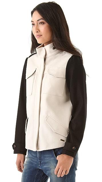 Scotch & Soda/Maison Scotch Army Inspired Wool Jacket