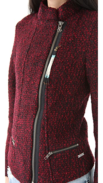 Scotch & Soda/Maison Scotch Boucle Wool Short Jacket