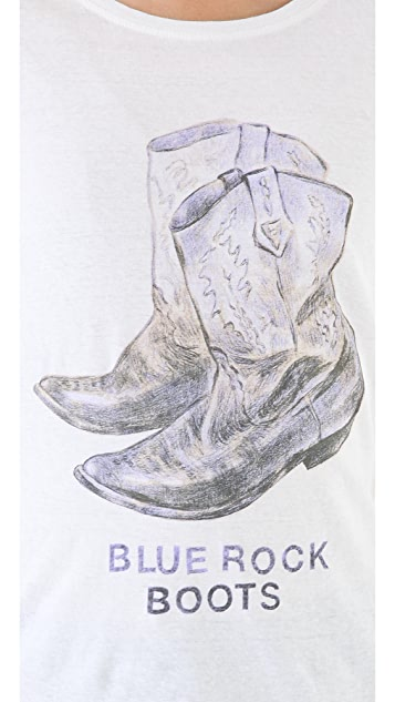 Scotch & Soda/Maison Scotch Blue Rocks Boots Tee